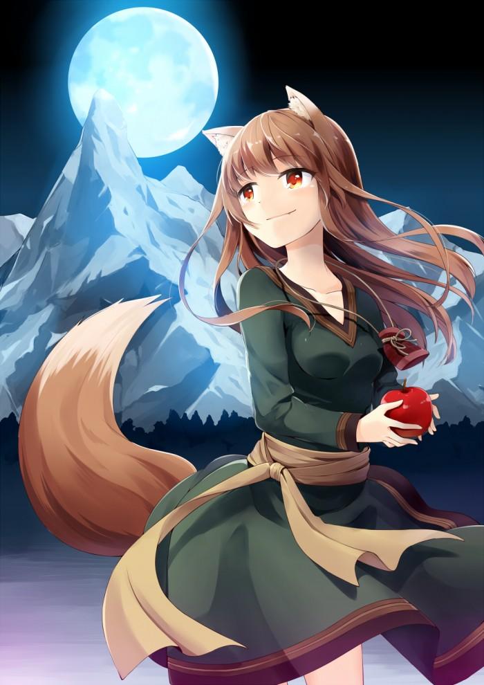 Spice & Wolf fan art 狼と香辛料