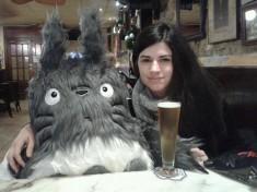 Enormous Totoro soft toy by Laura García Pola