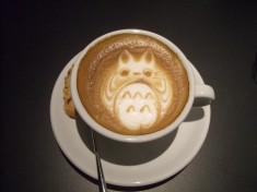 My Neighbor Totoro latte