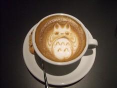 My Neighbor Totoro latte