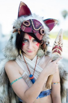 San (Princess Mononoke) Meisha Mock, photo : Estrada Photography