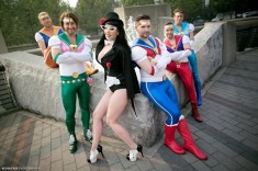 Fake Nerd Guys as the Sailor Moon scouts!