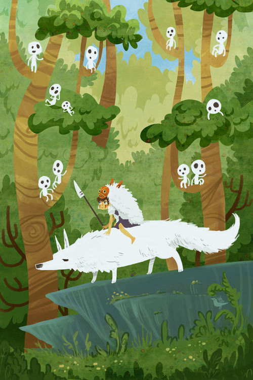 Princess Mononoke fan art もののけ姫