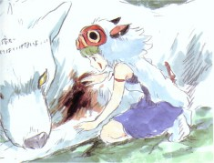 Princess Mononoke concept art もののけ姫