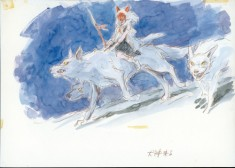 Princess Mononoke production art もののけ姫