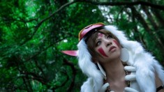 Princess Mononoke cosplay by YUI on WorldCosplay