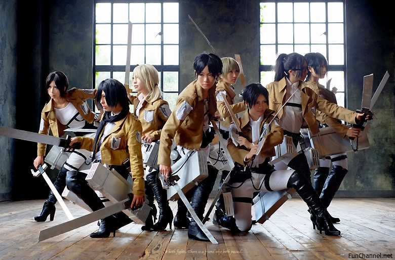 Gearing up with Attack on Titan Cosplay | Mimdojo.org