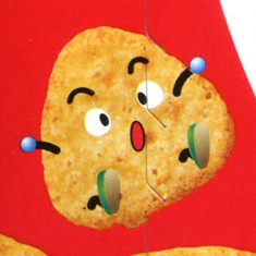 Glico Rice Crackers: Character Design