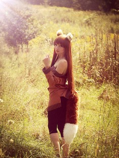 Goodbye Lawrence by idragonss Spice and Wolf cosplay