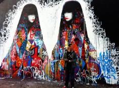 Graffiti by Hush: Doe-eyed Anime Girls