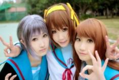 Haruhi Suzumiya cosplay by hikou10
