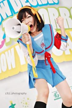 Haruhi Suzumiya cosplay by z3LLLL on DeviantArt