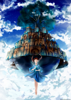 Laputa: Castle in the Sky by yuuike