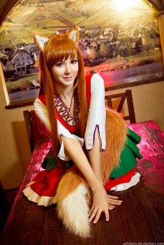 Horo – Spice and Wolf cosplay by Chrome-sensei
