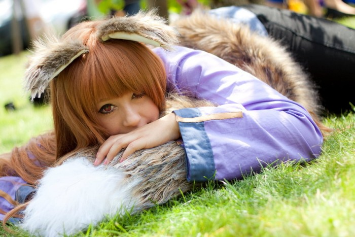 Horo Spice and Wolf Cosplay by K-A-N-A