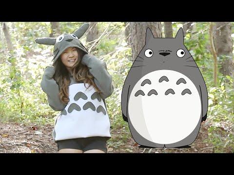 DIY Easy Totoro Costume (No sew) – YouTube