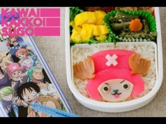 Video: How to Make Chopper Bento from One Piece!