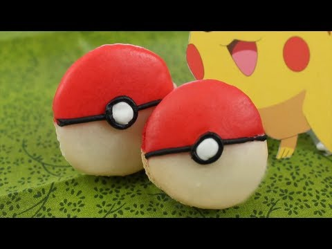 How to Make Pokemon X and Y Macarons! – YouTube Video