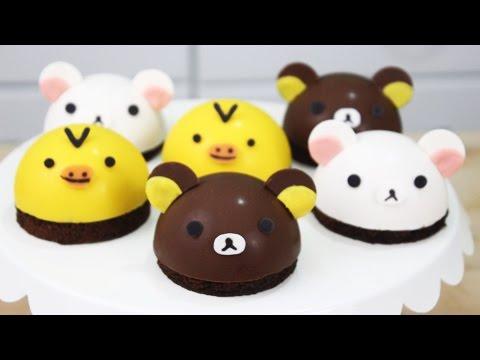 How to Make Rilakkuma Bombe Cakes! – YouTube Video