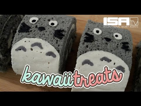 How To Make Totoro Roll Cakes