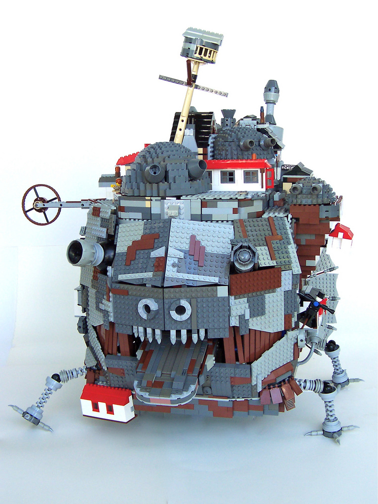 LEGO Howl's Moving Castle Front View