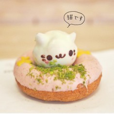 Japan Lover Me – Cat donut from Koenji <3  Photo by JapanLover…