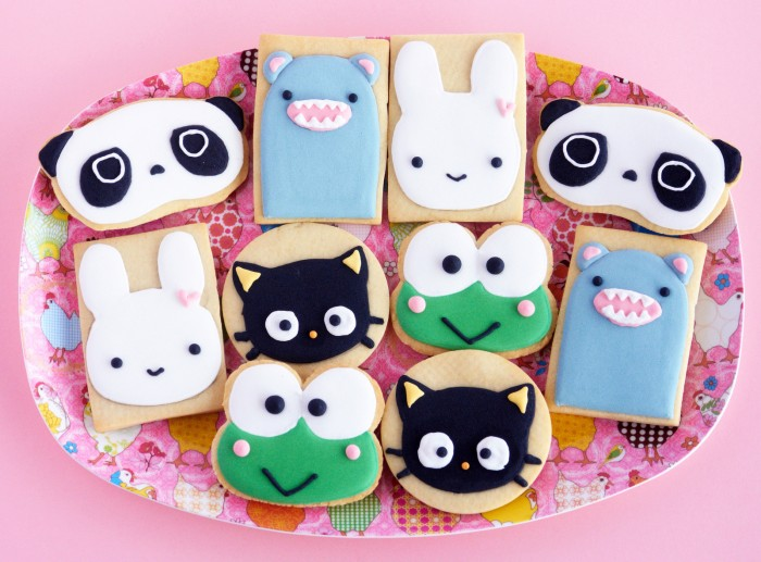 Kawaii Cookies: Featuring the like likes of Chococat, Kerokerokeroppi and others