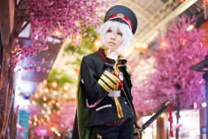 cosplay: Kay E (Nekolin Kay) as Hotarumaru of ToukenRanbu