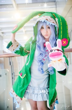 cosplay: Kay E (Nekolin Kay) as Yoshino of DATE A LIVE