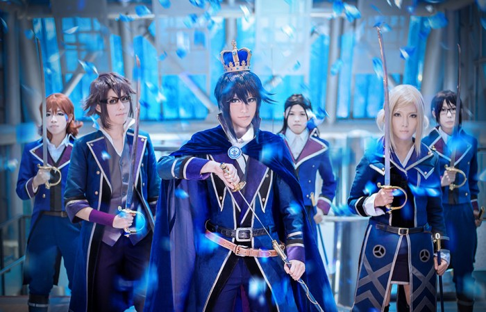 cosplay: [K-project] The Blue King by quatre2323