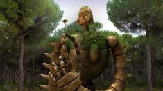 fan art: Laputa Robot Guardian by NightmaresInd