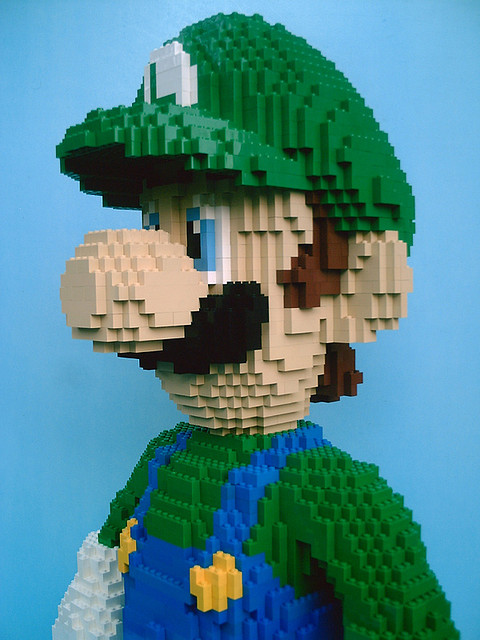 LEGO Luigi!