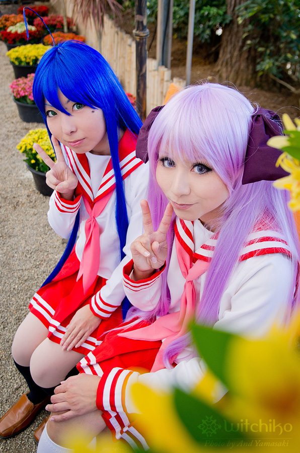 Lucky Star cosplay by Witchiko