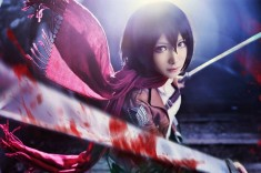 Cosplay: Mikasa Ackerman of Attack on Titan