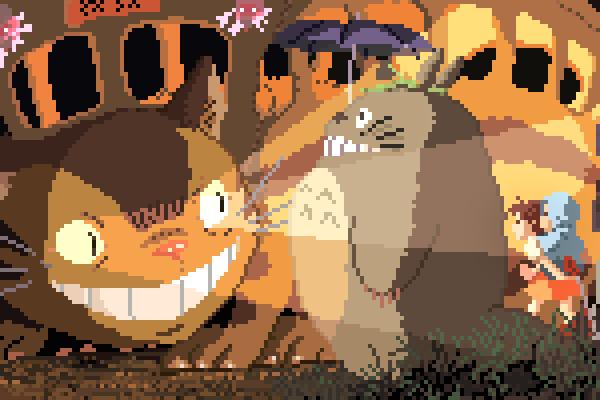 8-bit My Neighbour Totoro (1988)