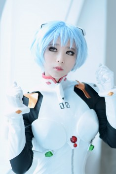 cosplay: mussum (S2um) as Rei Ayanami of Evangelion: 2.0 You Can (Not) Advance