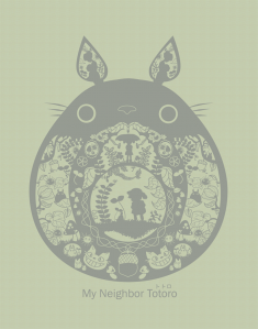 My Neighbor Totoro by pronouncedyou on DeviantArt