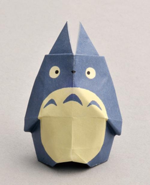 """My Neighbor Totoro"" Origami"