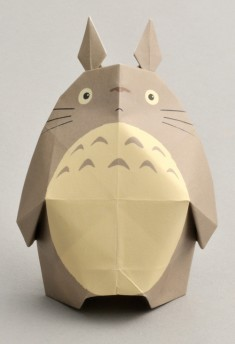 """My Neighbor Totoro"" Origami"