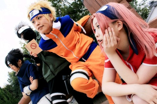Naruto and Naruto Shippuden Cosplay