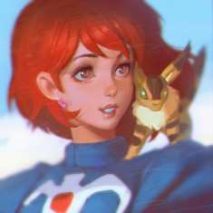 Nausicaa fan art by KR0NPR1NZ