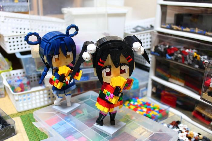 Lego Nico and Umi