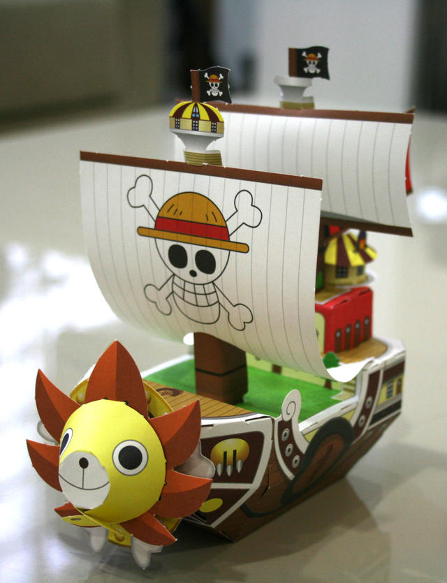 One Piece papercraft