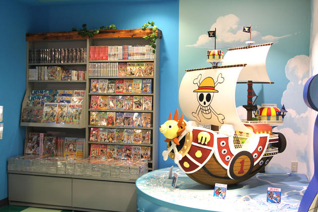 A One Piece ワンピース store in Japan