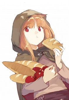 Spice & Wolf fan art 狼と香辛料
