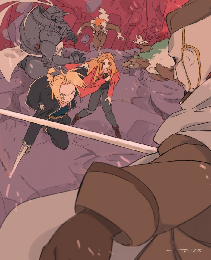 Fullmetal Alchemist fan art 鋼の錬金術師