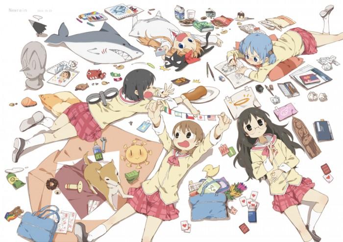 Nichijou fan art
