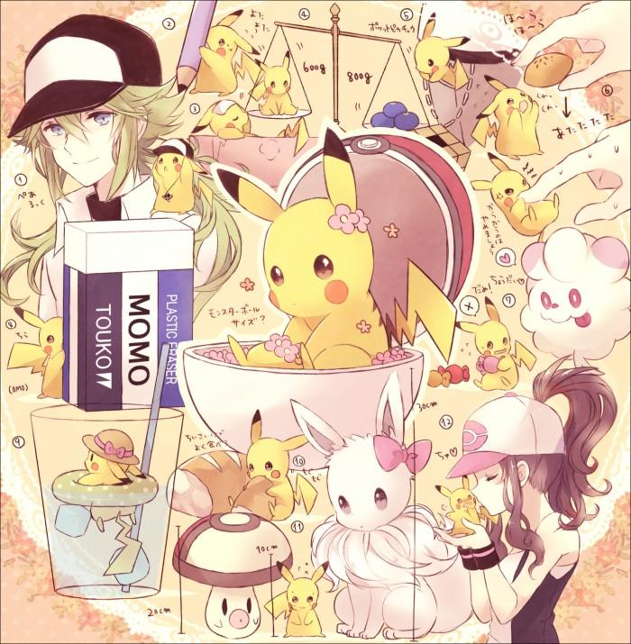 Pokémon fan art from Japan