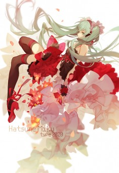 Hatsune Miku fan art from japan