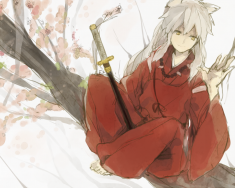 Inuyasha fan art from japan